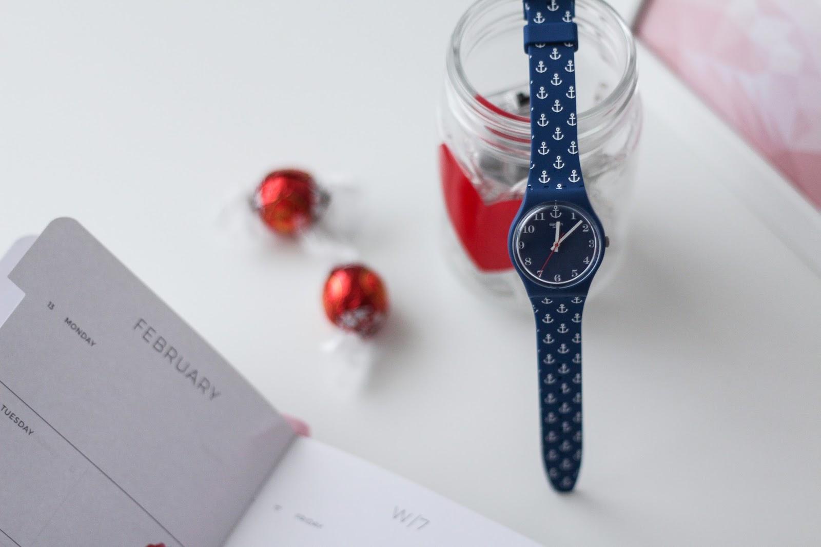 A San Valentino regala il tempo con un orologio Swatch