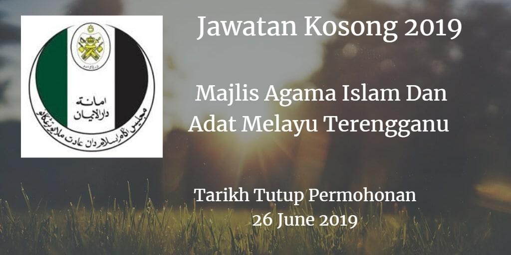 Jawatan Kosong MAIDAM 26 June 2019