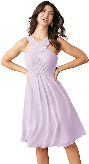 Best Quality Short Chiffon Bridesmaid Dresses