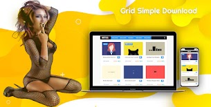 Edit !! Simple Download Responsive Blogger Template