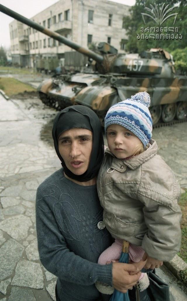 Воспоминания сухумчан о войне в Абхазии