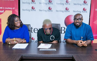 Ybnl Boss, Olamide Becomes Sterling Bank Ambassador