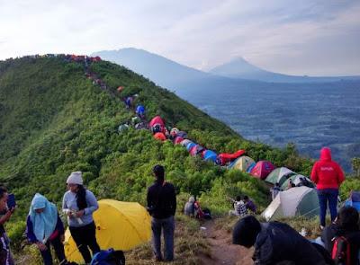 wisata puncak gunung andong