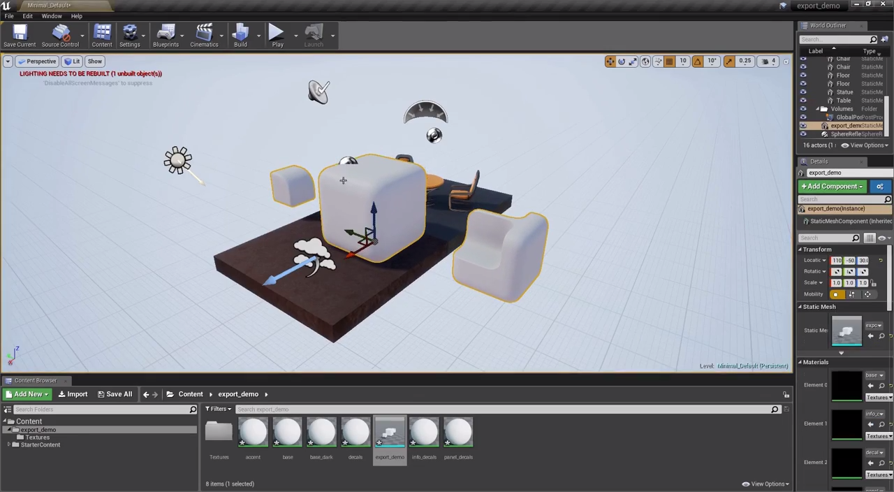 Exporting With DECAL machine In Unreal Engine 4 | CG TUTORIAL