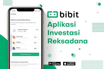 Bibit aplikasi investasi Reksadana
