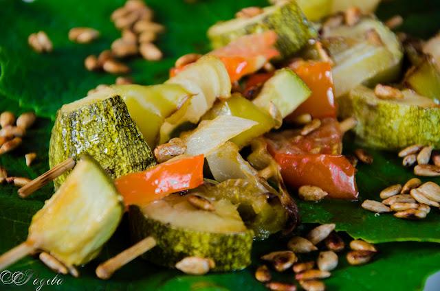 Глазирани-зеленчукови-шишчета-Glaze-vegetable-skewers