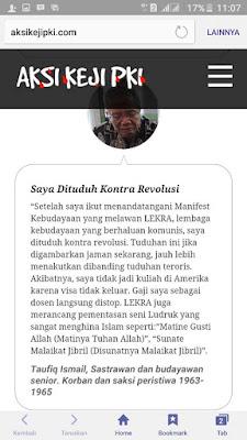 Masih Sok Soan Bela PKI ? Baca ini, Ini dia Saksi Saksi Hidup Yang Menyaksikan Secara Langsung Kekejaman PKI Pada Masanya - Naon Wae News