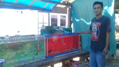 Agam Subandi (31) warga Karang Pendagi Desa Gondang Kecamatan Gangga Kabupaten Lombok Utara