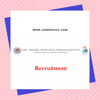 NGRI Recruitment 2019 for Project Assistant & Research Associate posts (66 Vacancies)