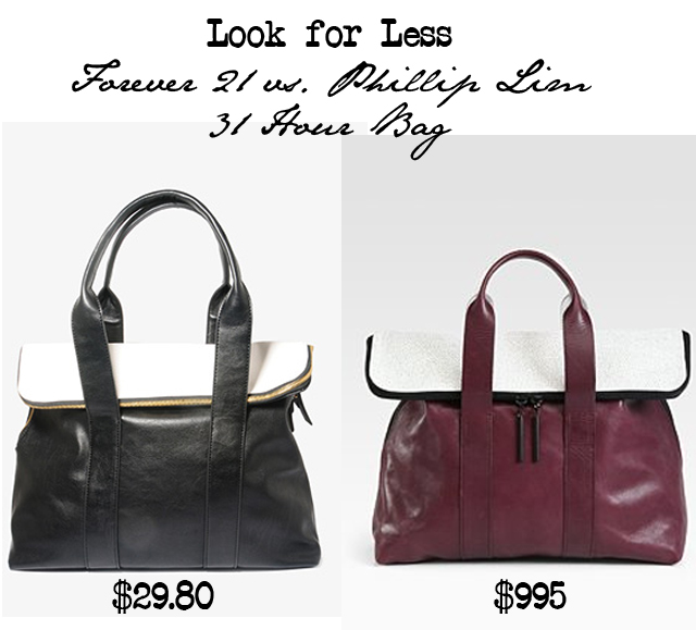 phillip lim 3.1 bag look for less