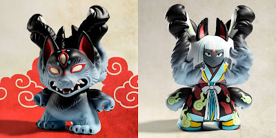 "Kyuubi Dunny 8"" Vinyl Figure by Candie Bolton x Kidrobot"