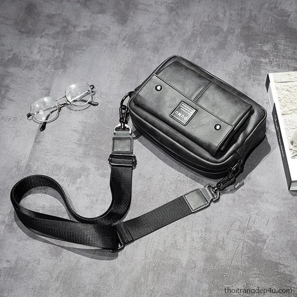 Túi đeo chéo thời trang da nam độc đáo cao cấp HOT NEW DNM020