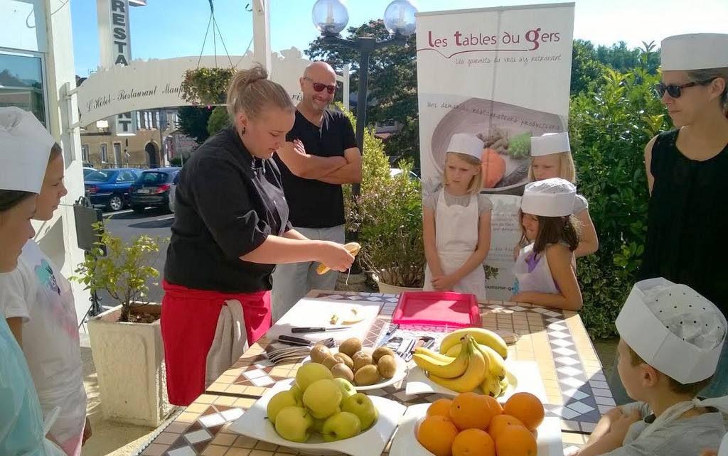 Chez nous a bouge atelier cuisine du mardi 2 ao t 2016 - Atelier de cuisine en gascogne ...