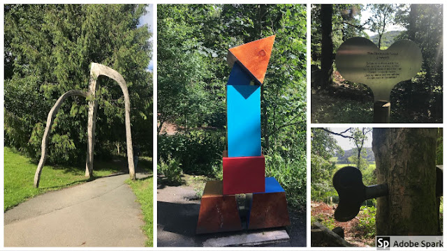 Grizedale Forest sculptures and clockwork forest