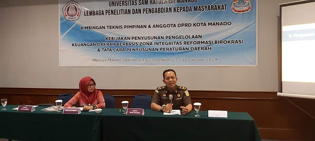 Tingkatkan Kualitas Kelembagaan , DPRD Kota Manadi Ikut Pembekalan Bimtek di Hotel Mercure