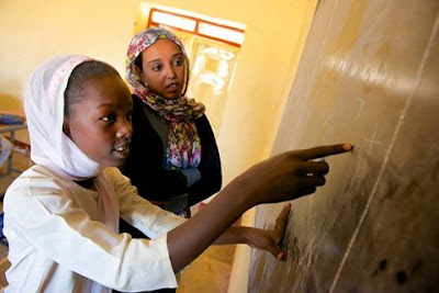 Yet, 3.2 million children in Sudan don't go to school and if all children were enrolled, an additional 256,126 teachers would be needed. Thank you for sharing UNICEF Middle East and North Africa.