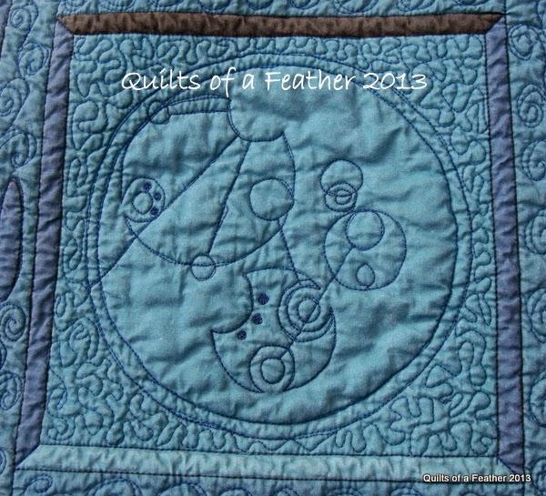 Geek Art Gallery Crafts Tardis Quilt