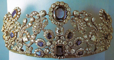 Sapphire Tiara Angouleme France Bapst Cholmondeley Sassoon
