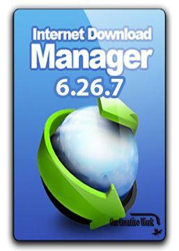 IDM: INTERNET DOWNLOAD MANAGER  V6.26.7 Free Download