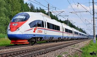 Поезд Сапсан Москва Санкт Петербург