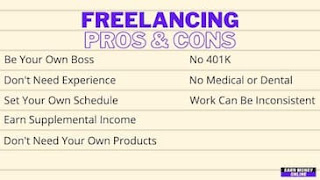 Freelancing Pros and Cons
