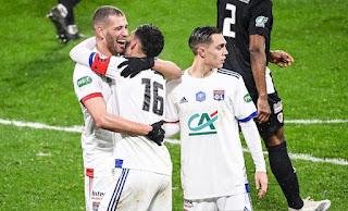 سليماني يسجل هدف و يقدم تمريرتين حاسمتين امام اجاكسيو في كاس فرنسا