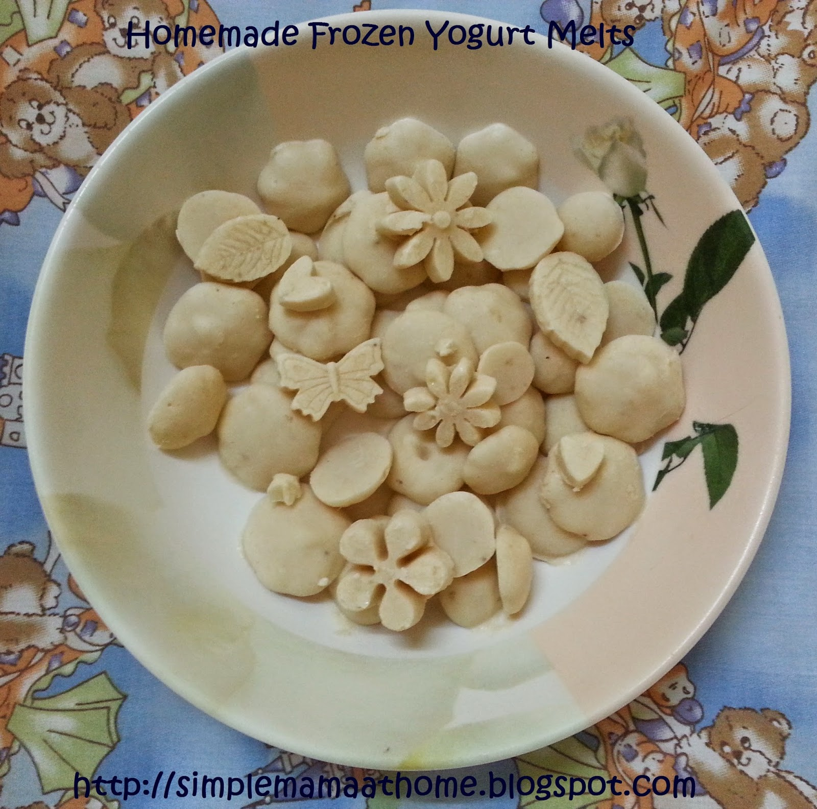 Homemade Frozen Yogurt Melts
