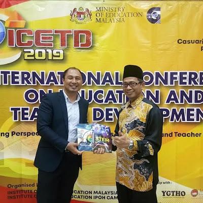 Perkongsian Inspirasi Guru di ICETD 2019