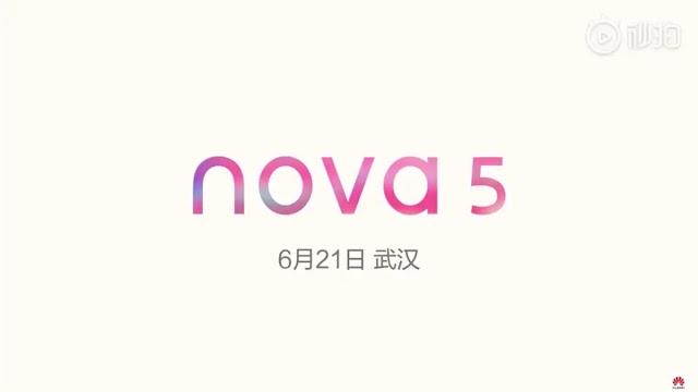 Huawei Nova 5, Nova 5i Launch Set in China on June 21st