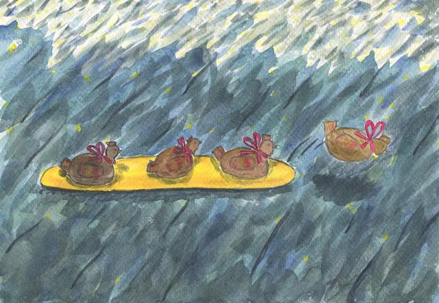 La poule aux oeufs d'or - un hamster clôt l'enquête