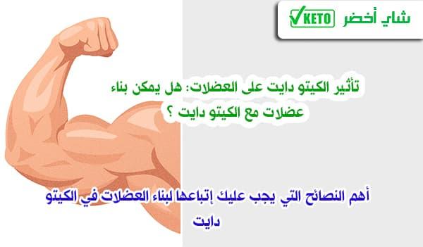 تأثير الكيتو دايت على العضلات: هل يمكن بناء عضلات مع الكيتو دايت ؟