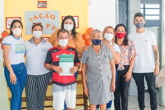 Fotos Primeira Ação do Cadastro Único para idosos que fazem parte do Serviço de Convivência e Fortalecimento de Vínculos (SCFV).