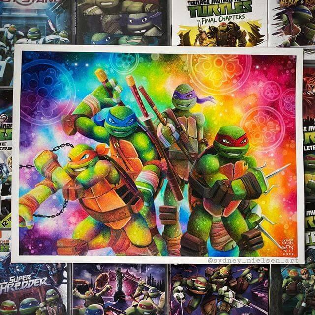 06-Ninja-Turtles-Sydney-Nielsen-Pencil-Drawings-www-designstack-co