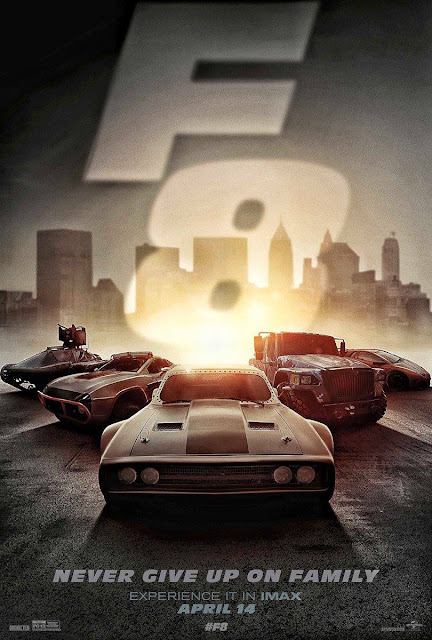 The Fate of the Furious Movie Exclusive Latest HD Posters