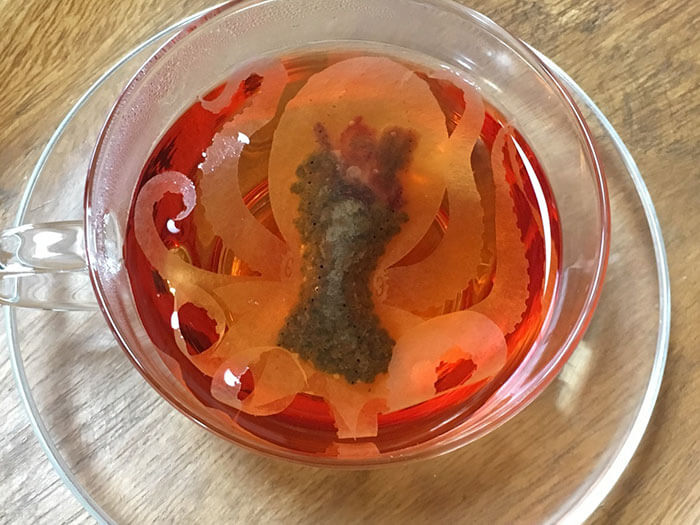 Extraordinary Sea Creature Teabags Made By Japanese Company 'Come Alive' Inside Your Cup