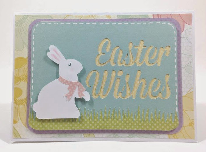 Cricut Artfully Sent Easter POP-UP card