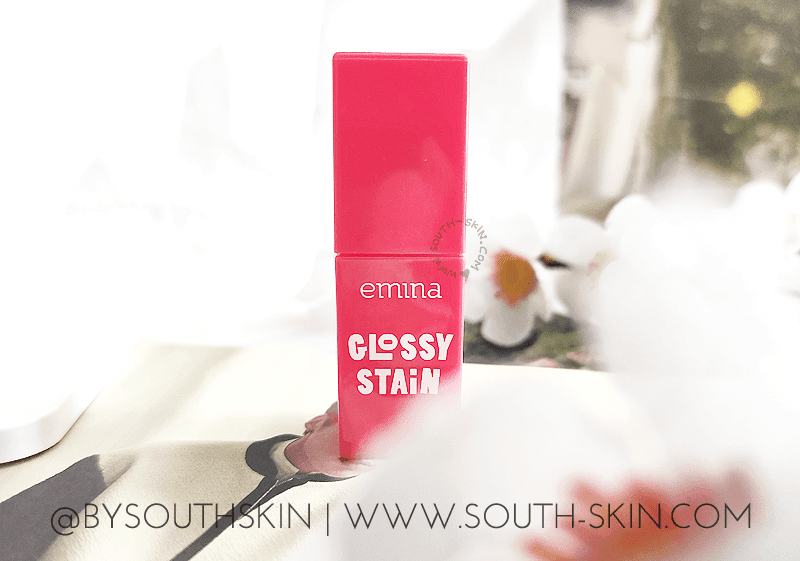 review-emina-lip-tint-glossy-stain-apple-shower