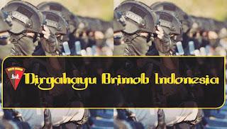 selamat hari brimob indonesia