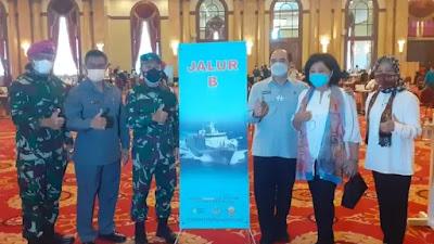 Purnawirawan TNI AL Laksanakan Vaksinasi Covid-19