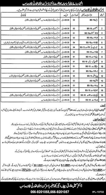 Locale Health Authority Nankana Sahib Jobs 2020 promotion