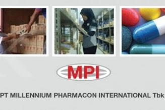 Lowongan PT. Millennium Pharmacon International Tbk Pekanbaru September 2019