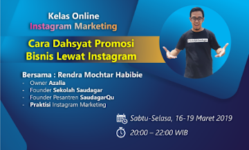 Kelas Online Instagram Marketing