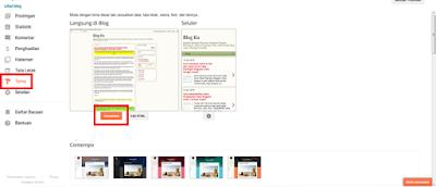 Cara Mengedit Tampilan Tema Blog Bawaan Blogspot Agar Terlihat Menarik