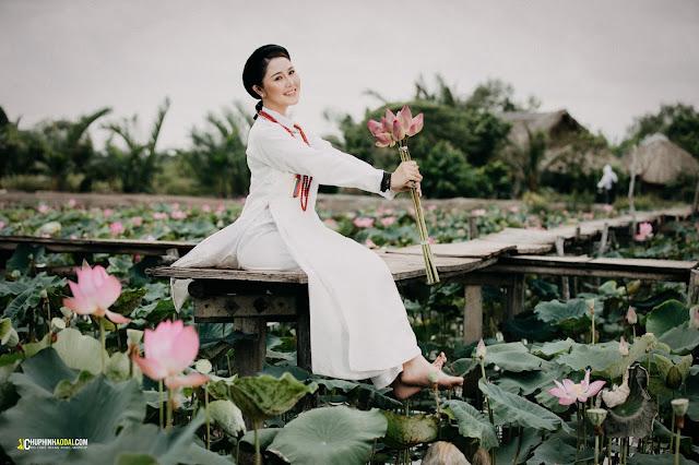 Chụp ảnh cổ phục tại TP Hồ Chí Minh