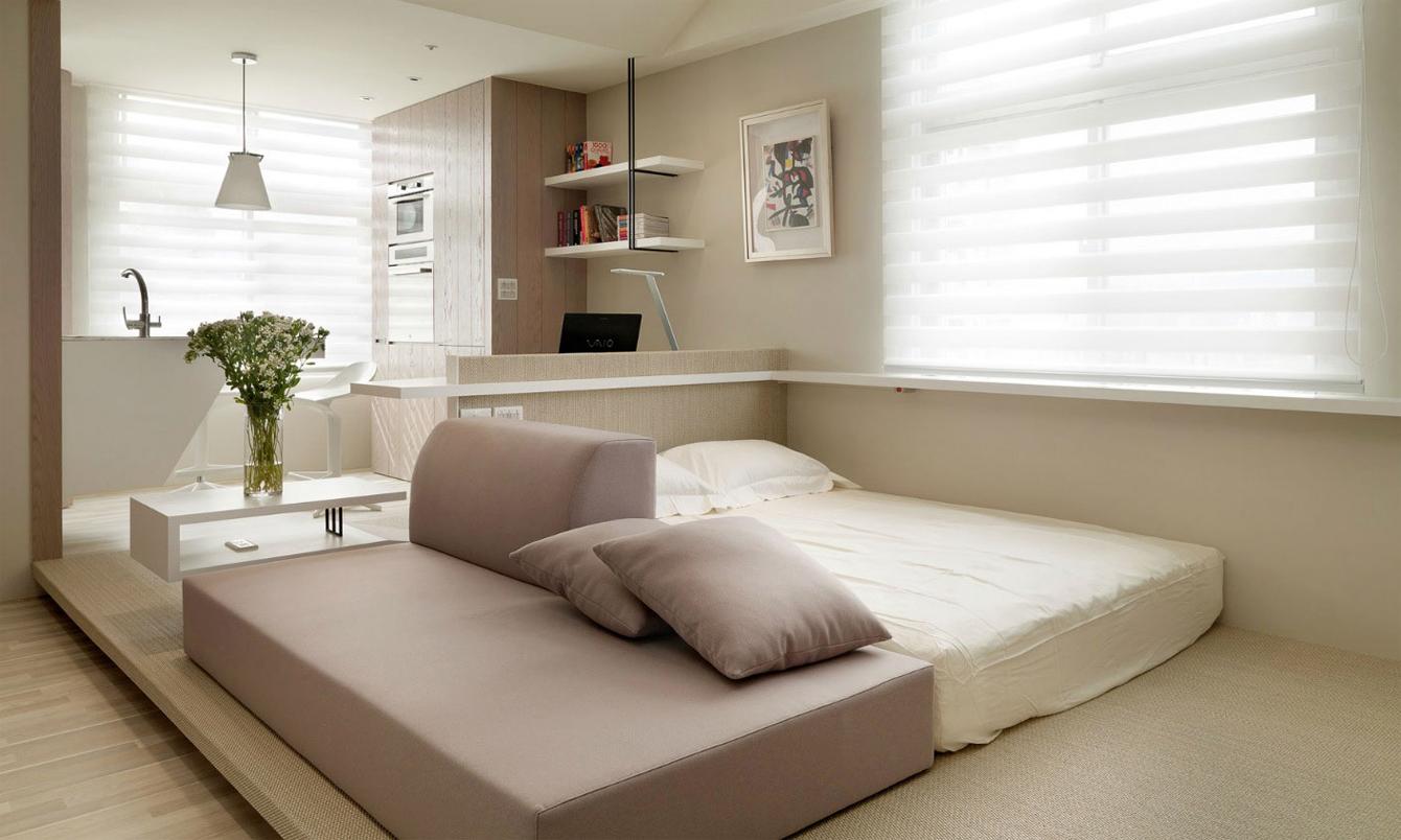 Model Bilik Tidur Moden Sederhana