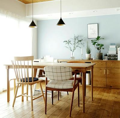 Furniture idea for small apartment dining area