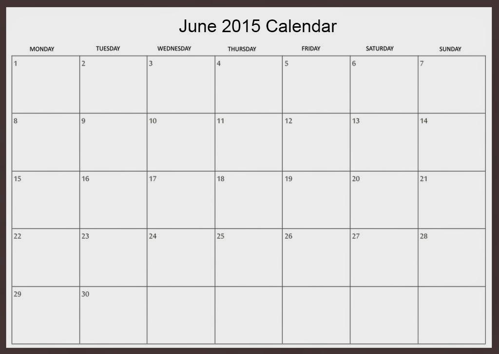 Free Printable Calendar  Free Printable Calendar June