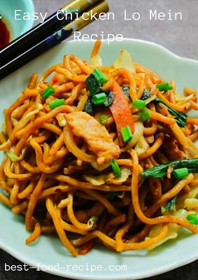 Easy Chicken Lo Mein Recipe