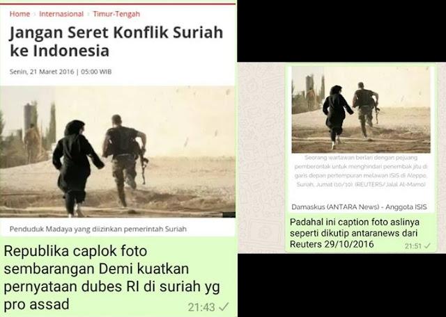 Dubes RI Suriah dan Republika.co.id pro Syiah