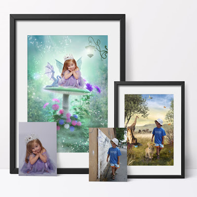 Fantasy Fairy Photo Portraits custom artwork created from your photo